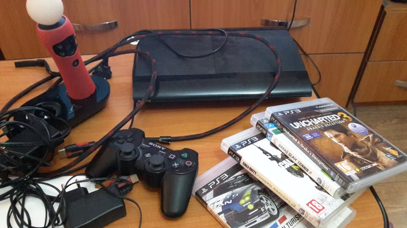 Ps 3 slim 500 gb, TV LG 105 cm laptop hp
